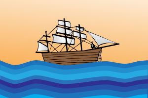 illustrated boat