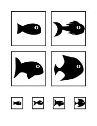 Fish icon family