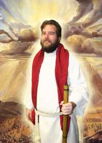 Jeff as Moses