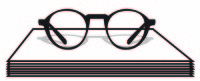 Glasses w/ Papers Graphic