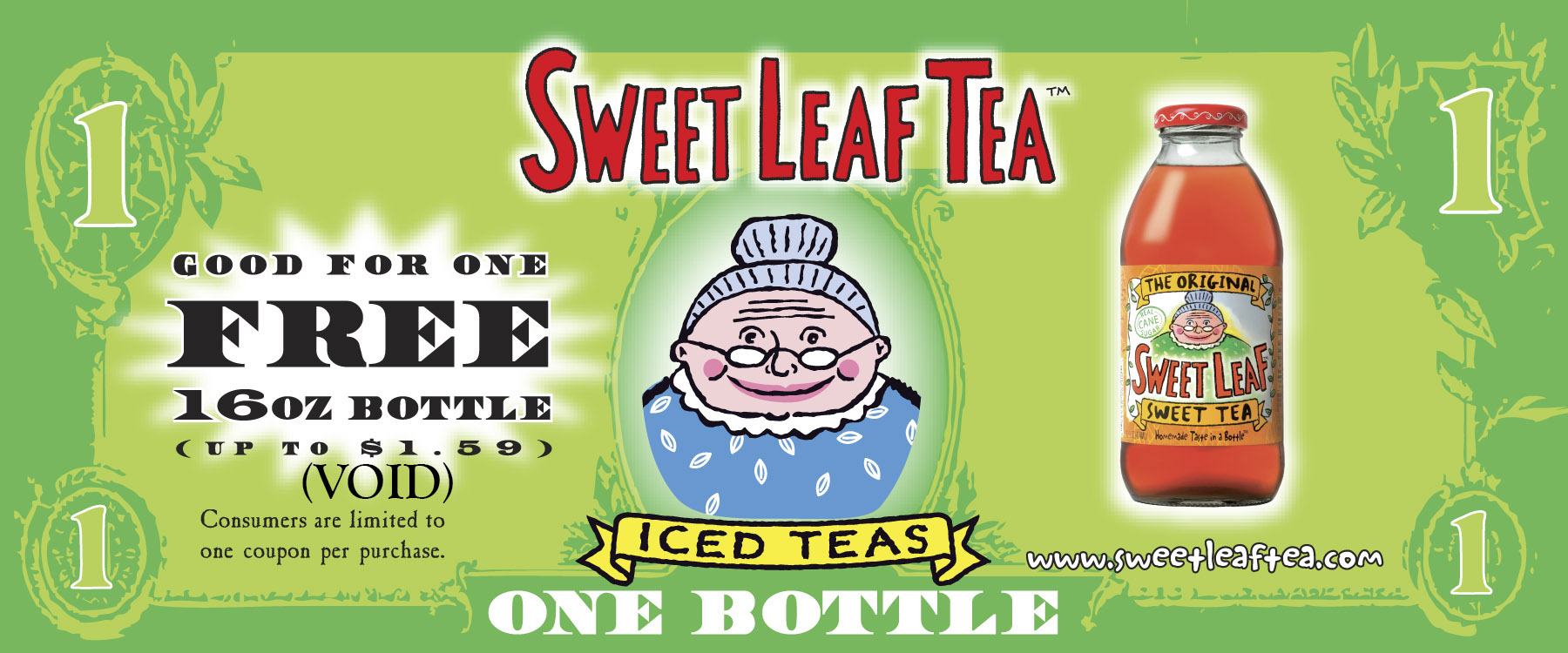 Sweet Leaf VIP coupon-front